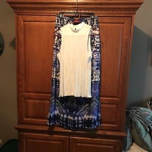 White sleeveless blouse NWT
